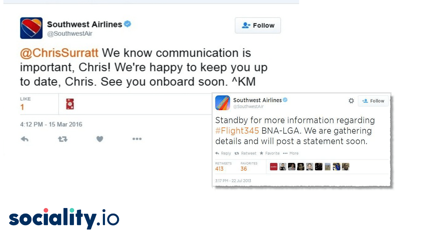 Southwest Airlines Social Media Crisis