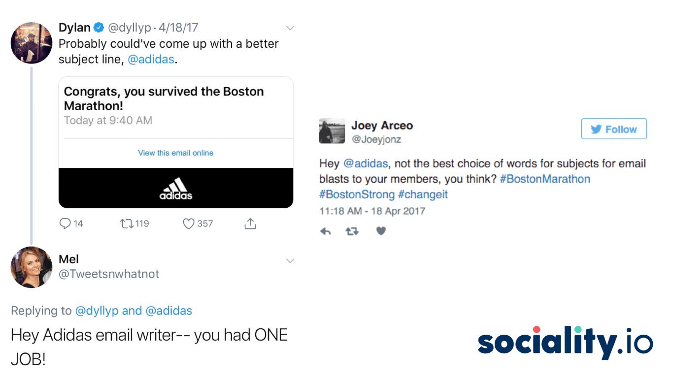 adidas social media crisis