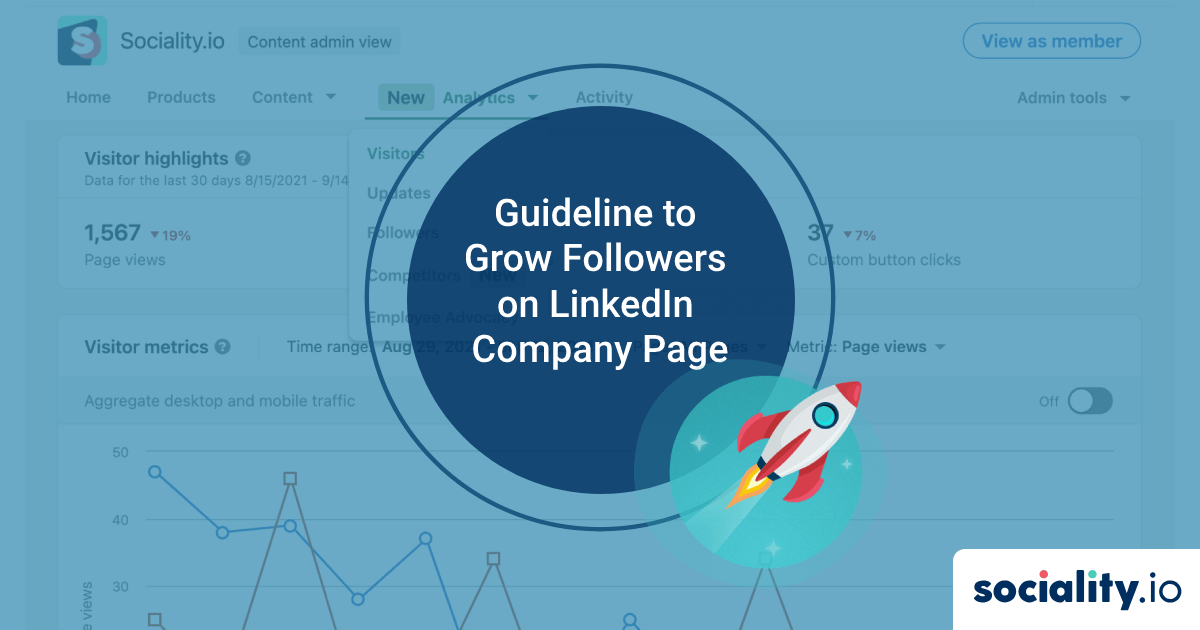 Guideline to Grow Followers on LinkedIn Company Page (Without Buying Fake Followers)