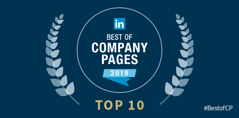 LinkedIn Best Of Pages 2018
