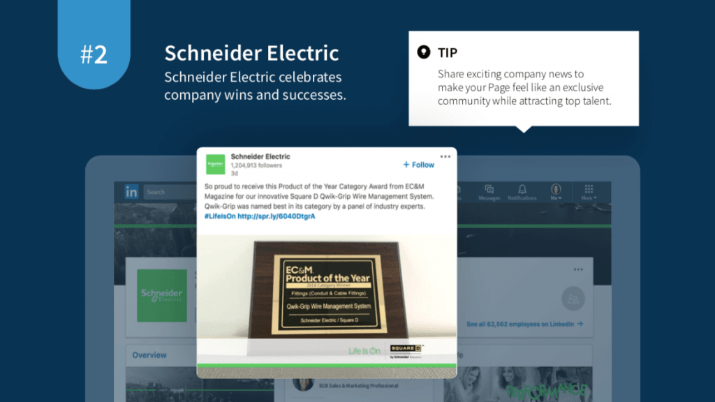Linkedin Schneider Electric