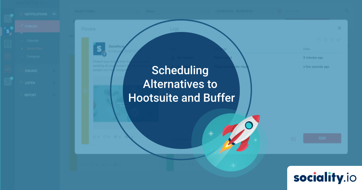 Scheduling Alternatives to Hootsuite and Buffer
