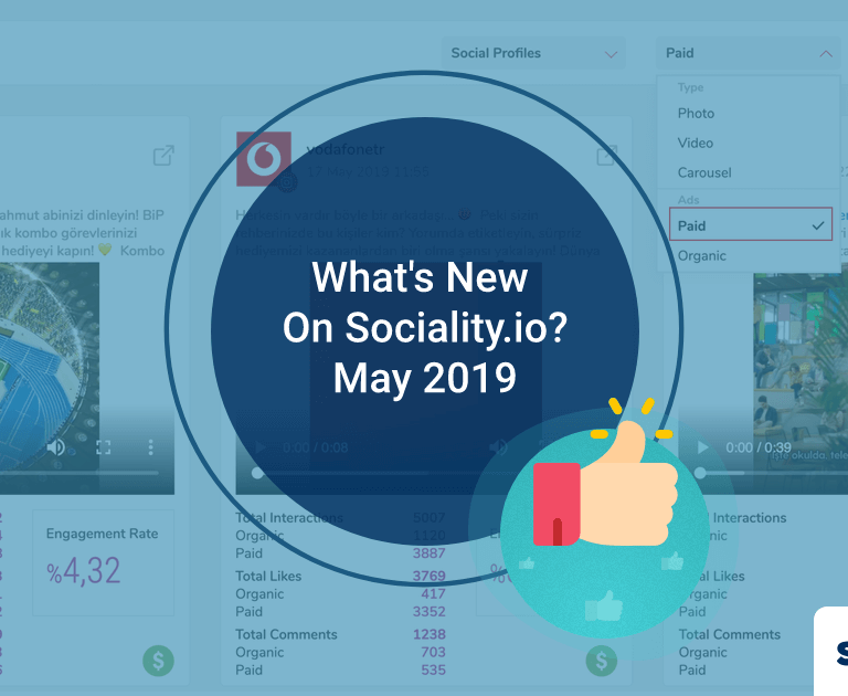 What's New On Sociality.io? – May 2019