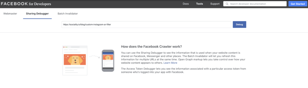 How to use Facebook Debugger for social media marketers