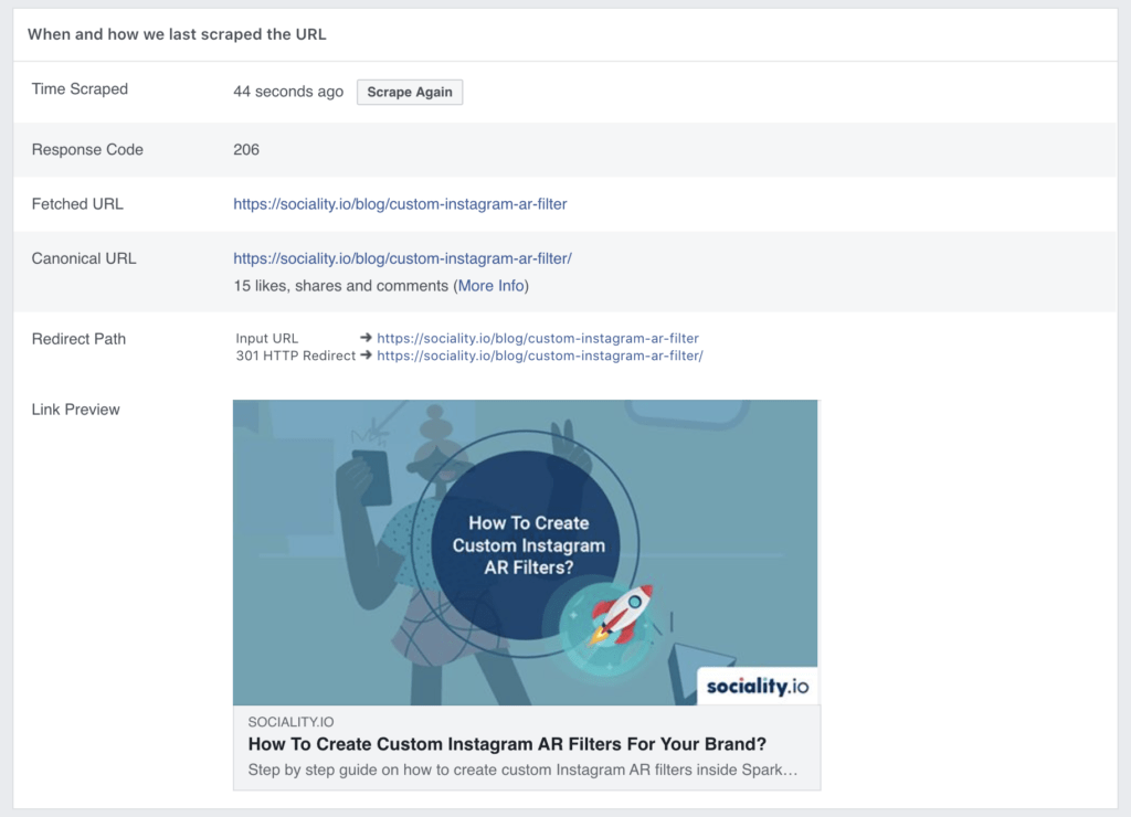 How to fix issues with Facebook Debugger