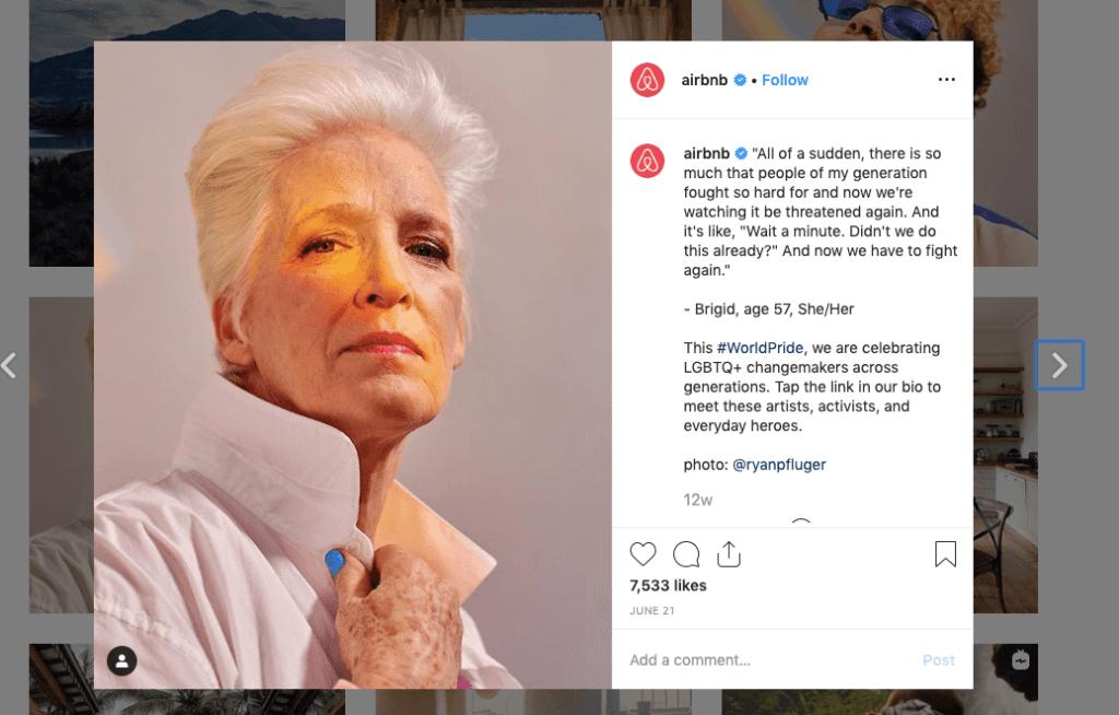 Instagram Airbnb Brigid