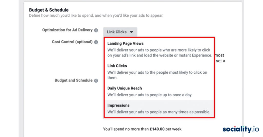 facebook ads ad delivery