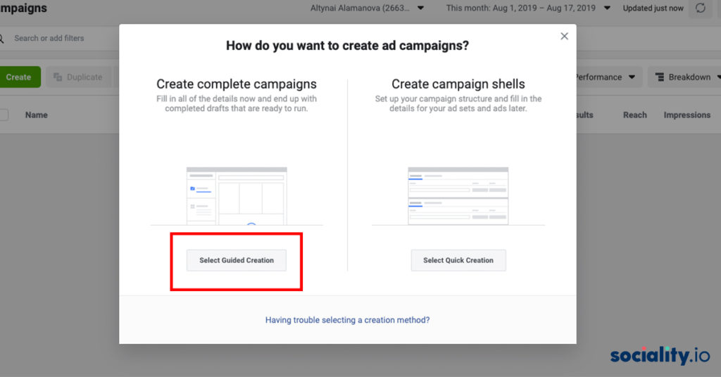 facebook ads campaign how to