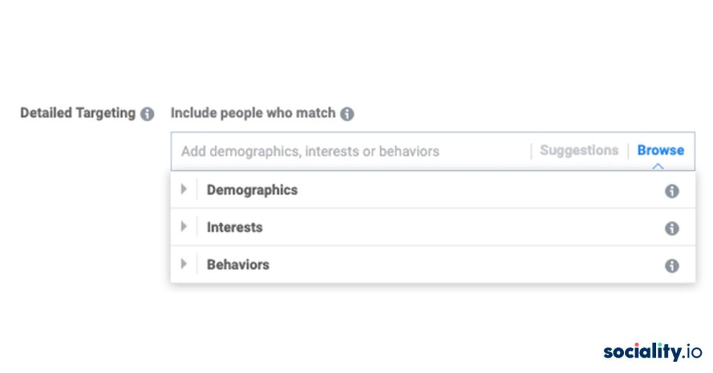 Facebook Ads Detailed Targeting