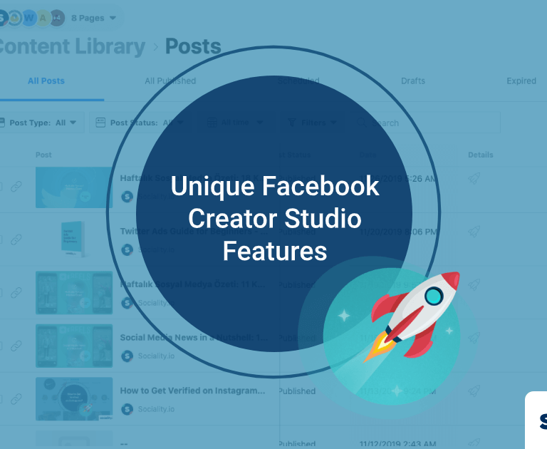 4 Unique Facebook Creator Studio Features You won't Find Anywhere Else