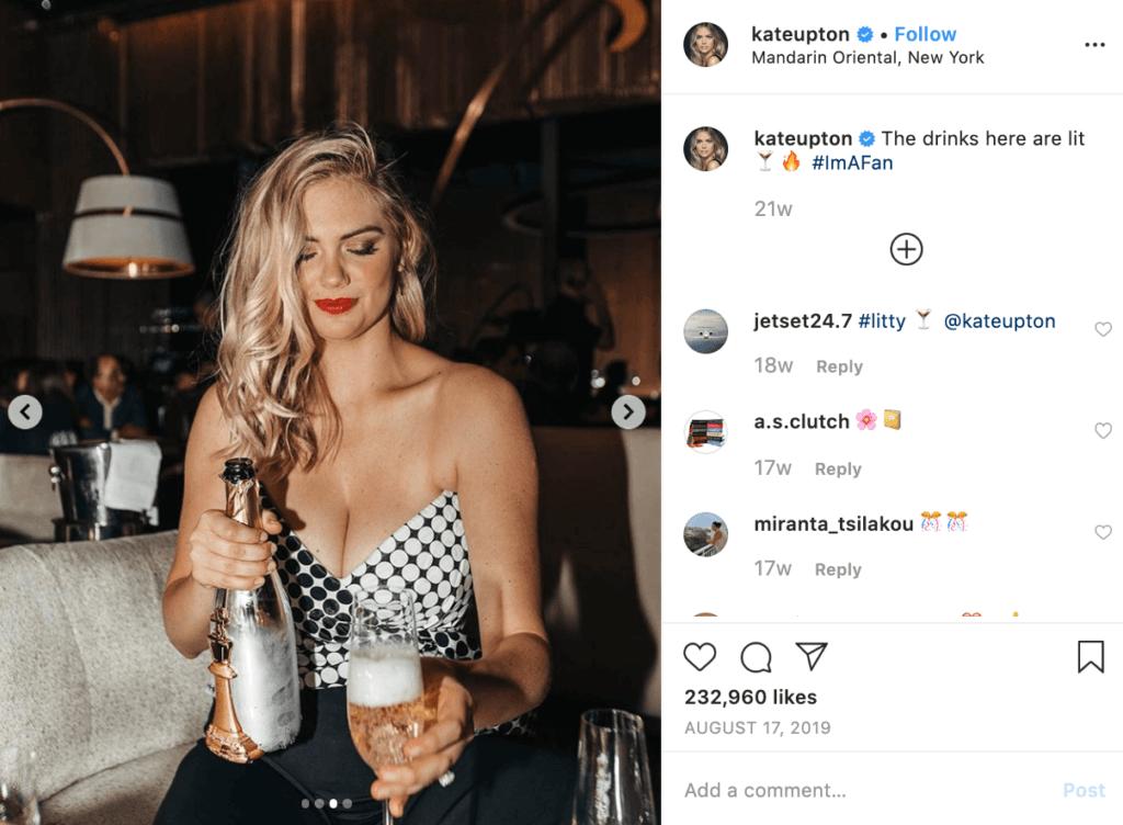 Influencer Marketing Kate Upton