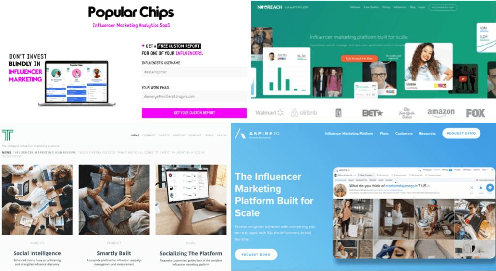 Social Media Influencer Marketing Platforms