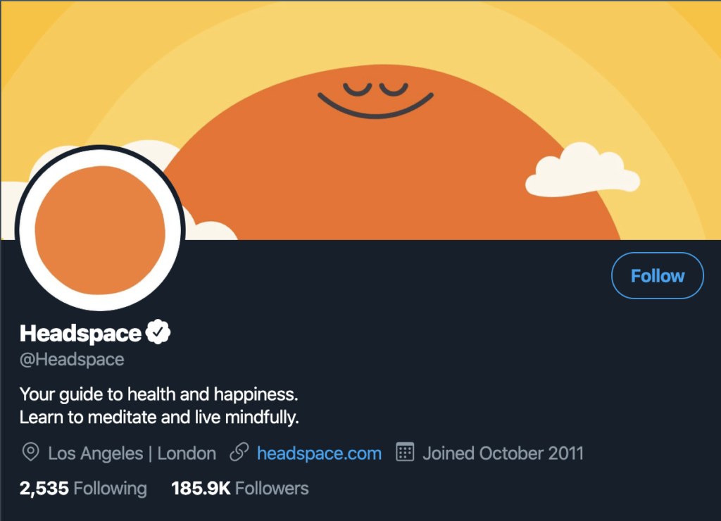 Headspace's Social Media Marketing Strategy