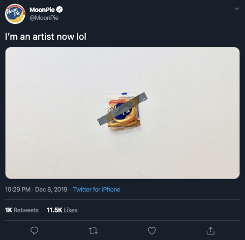 viral marketing moonpie tweet
