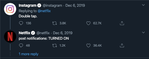 viral marketing netflix twitter reply