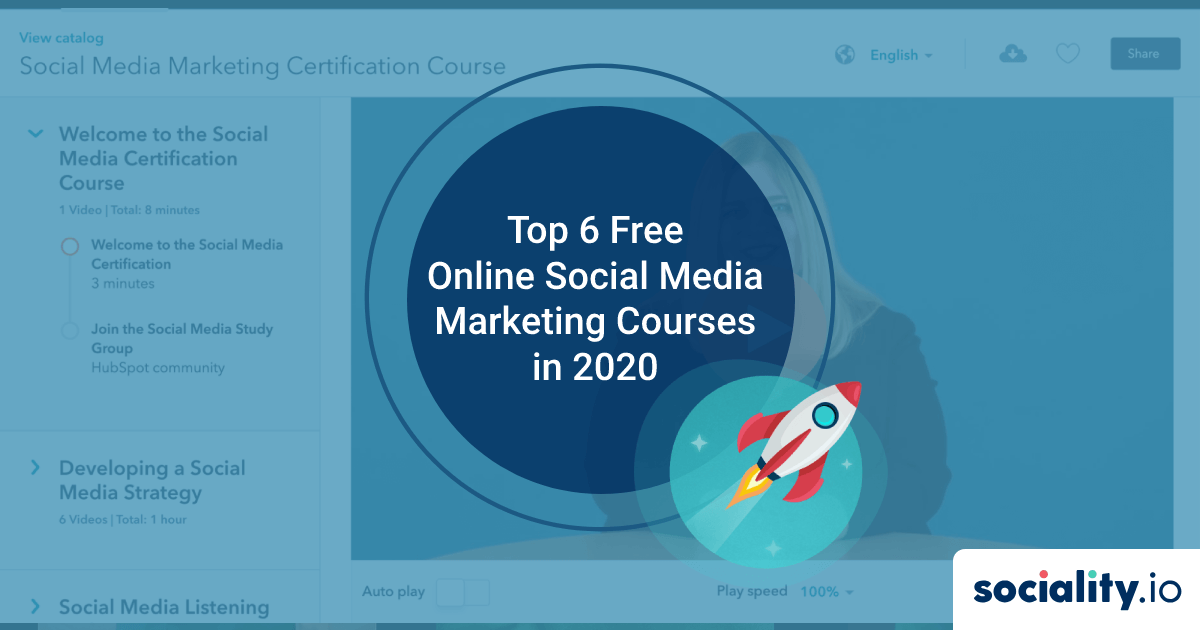 Top 6 Free Online Social Media Marketing Courses in 2020