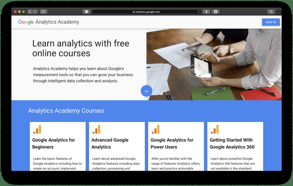 Google analytics Social Media Marketing Course