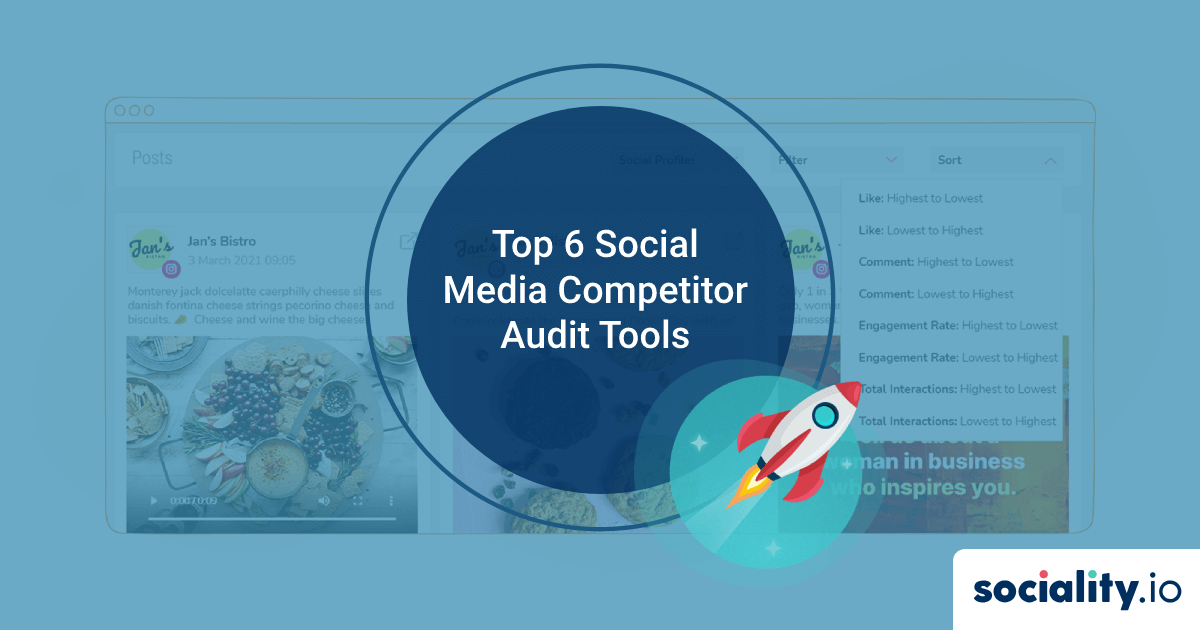 Top 6 Social Media Competitor Audit Tools That Are Worth Your Time