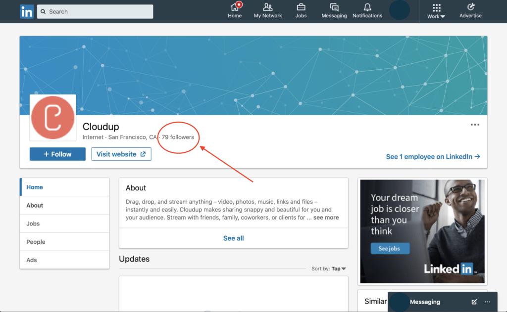 LinkedIn competitor analysis