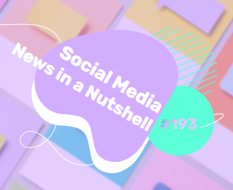 What's going on in the world of social media this week? 16 — 22 November 2020