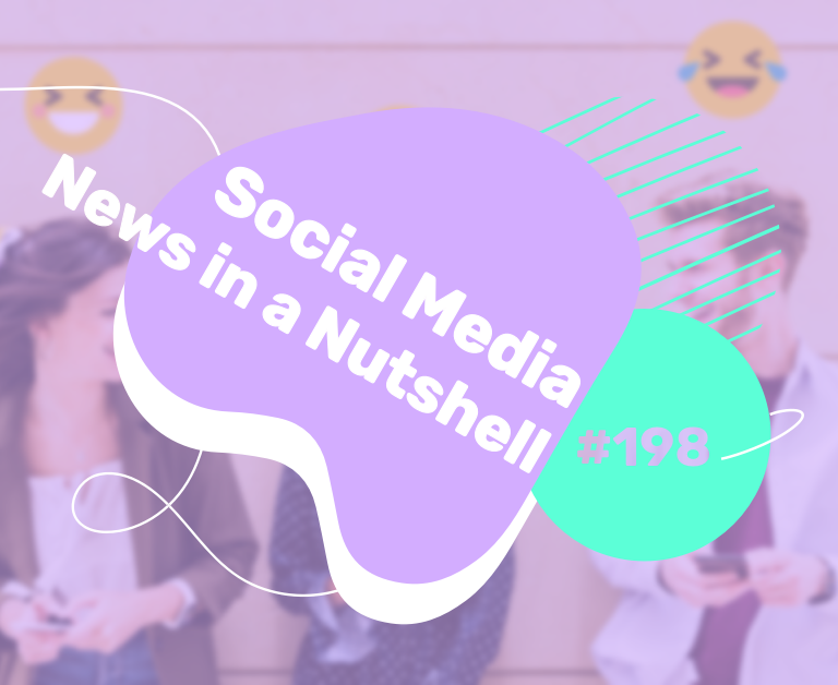What's going on in the world of social media this week? 21 — 27 December 2020