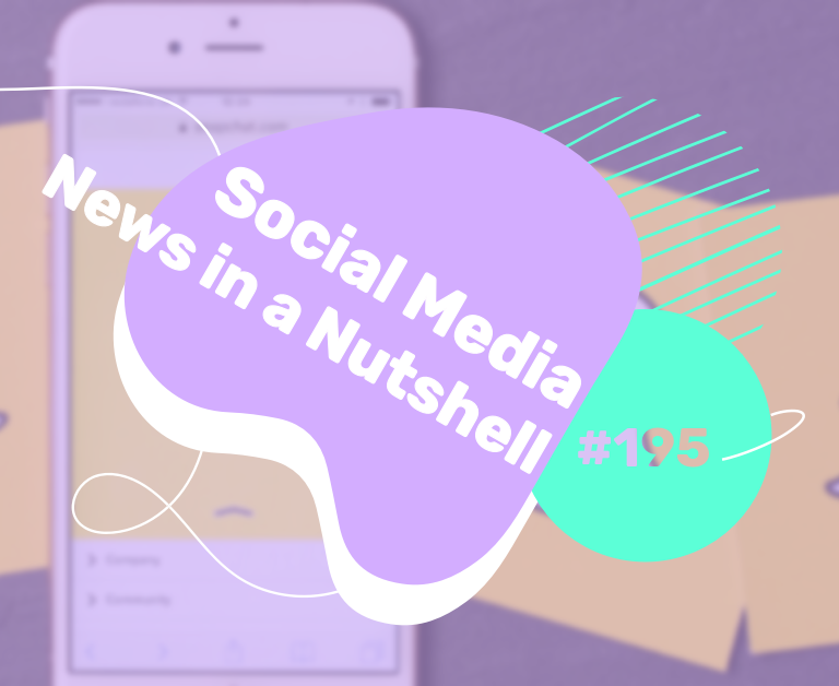 What's going on in the world of social media this week? 30 November — 6 December 2020