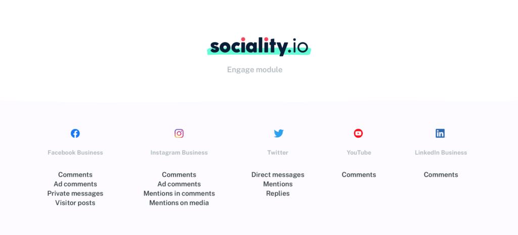 Sociality.io Engage module