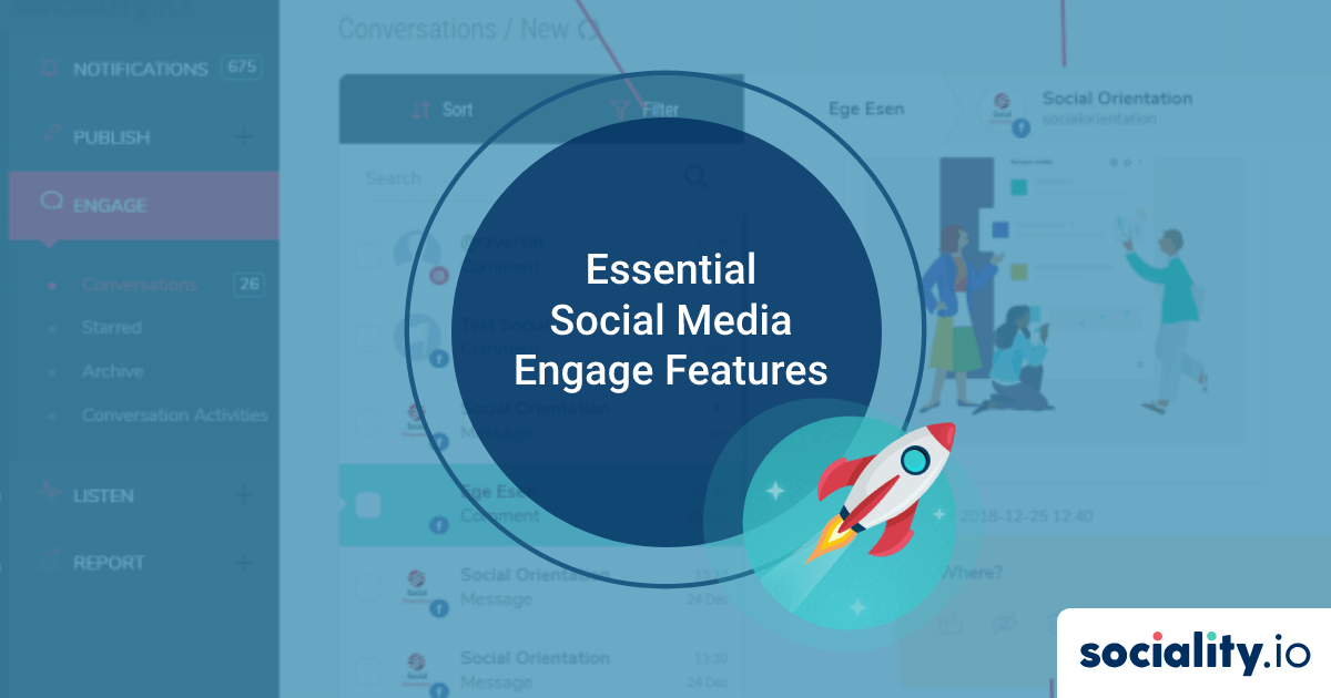 Essential Social Media Engage Features to Stay Connected with Audiences and Remote Team Members