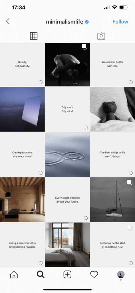 Instagram Grid Style - Checkerboard Feed