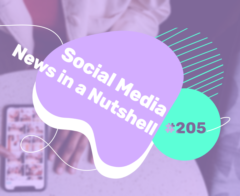 What's going on in the world of social media this week? 8 — 14 February 2021