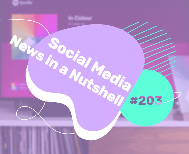 Social Media News in a Nutshell: 25 – 31 January 2021