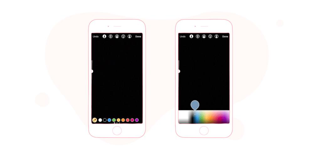 Instagram Stories Color Palette