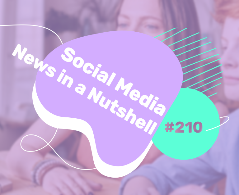 What's going on in the world of social media this week? 15 — 21 March 2021