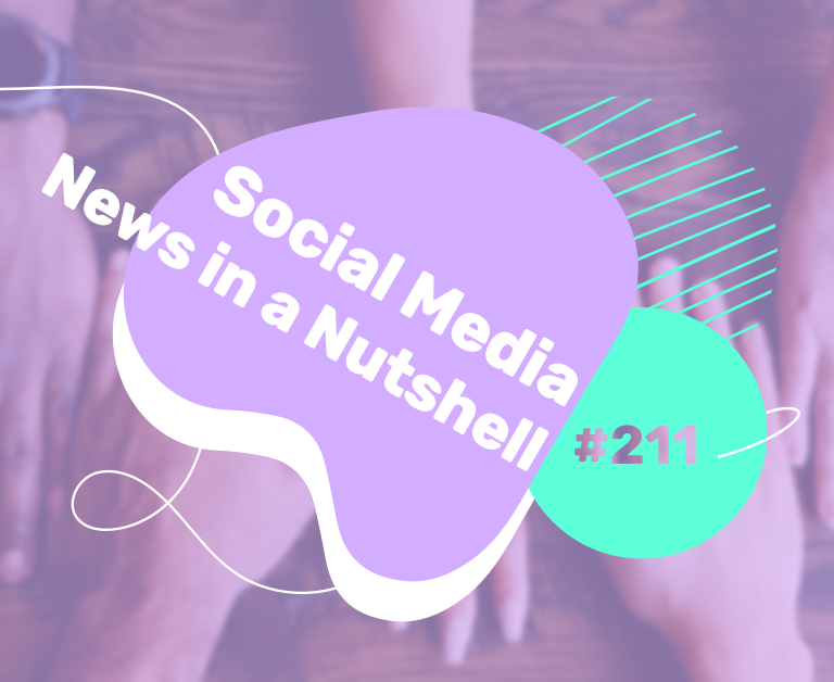 What's going on in the world of social media this week? 22 — 28 March 2021