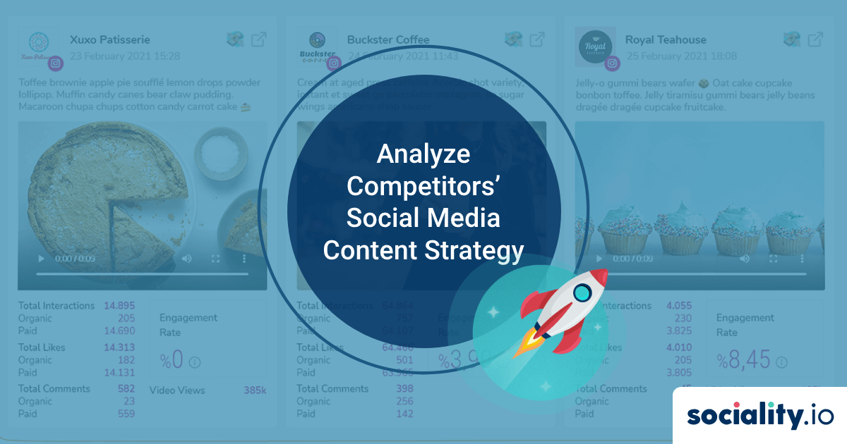 How to Track and Analyze Competitors' Social Media Content Strategy?