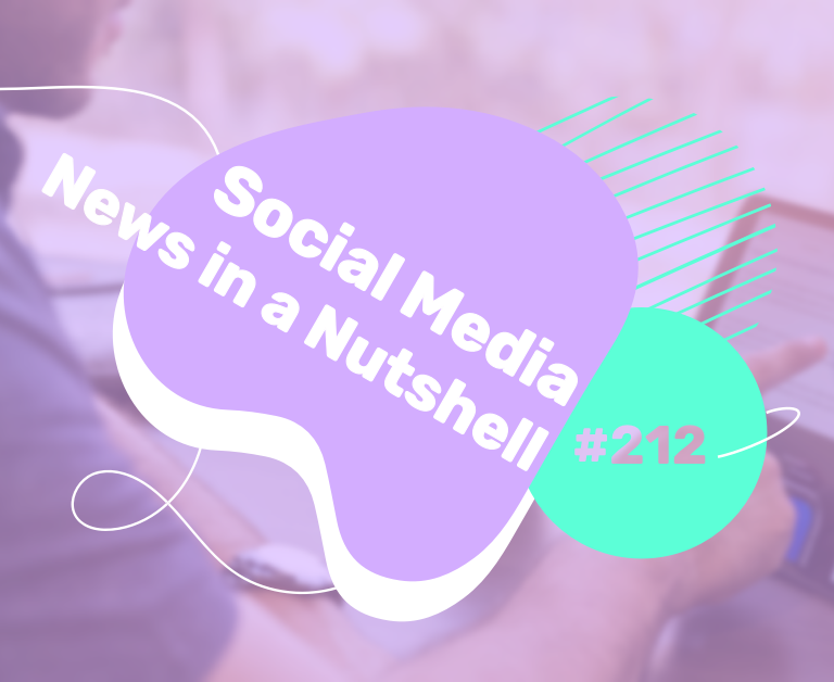 What's going on in the world of social media this week? 29 March — 4 April 2021