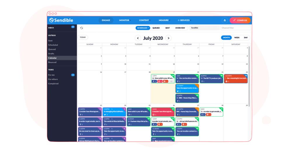 Sendible - Scheduler