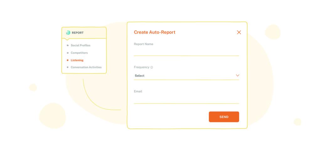 Social Media Listen module - Creating Auto Report