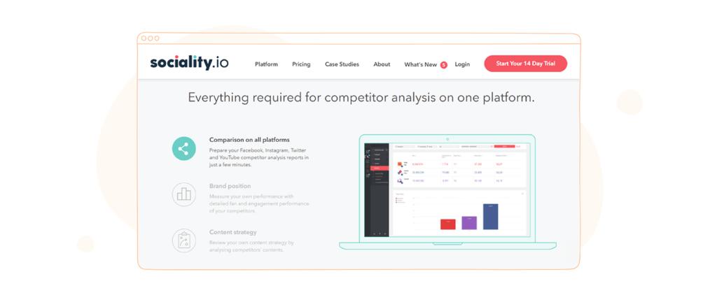 Social Media Competitor Analysis Tool - Sociality.io