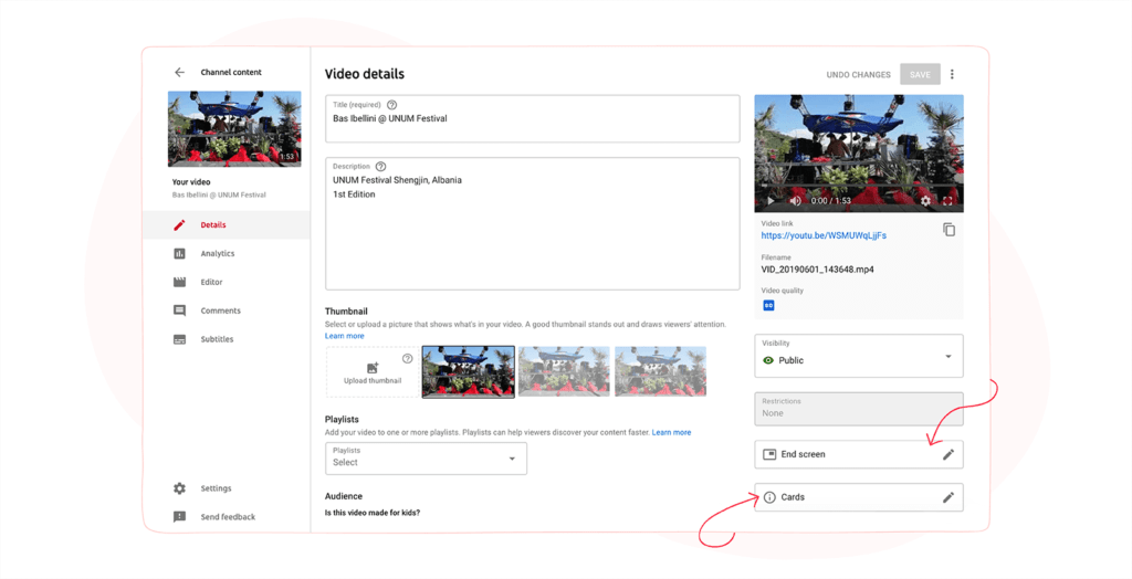 YouTube Video Details