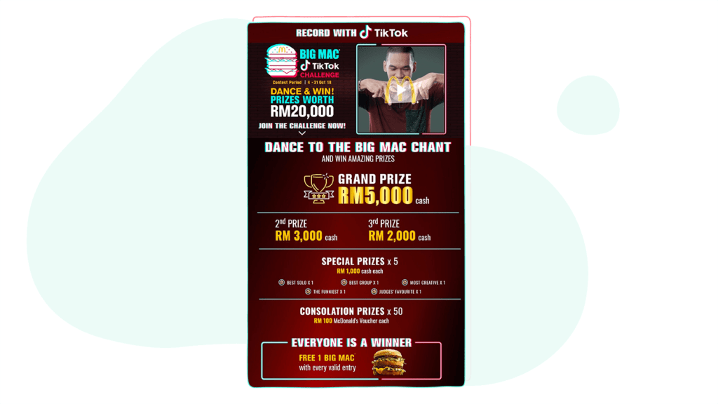 BigMac TikTok campaign