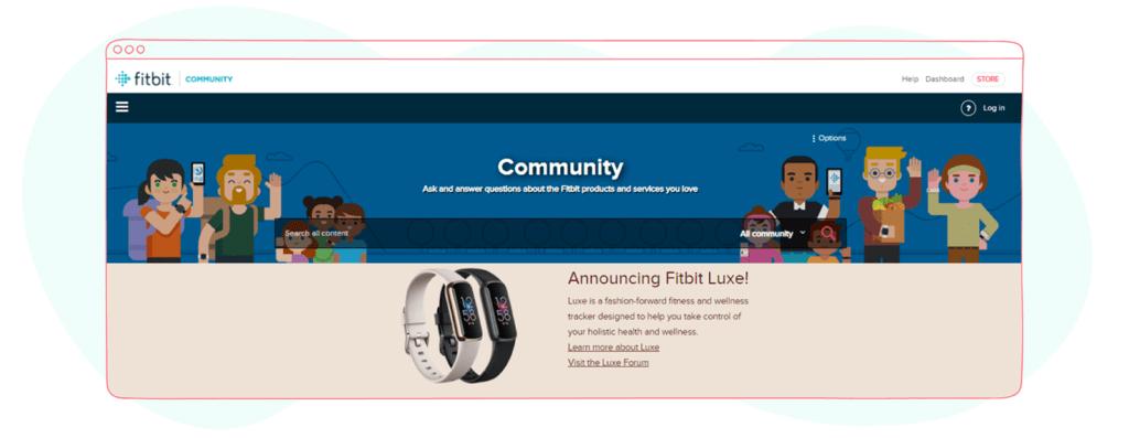 Community Marketing Firbit