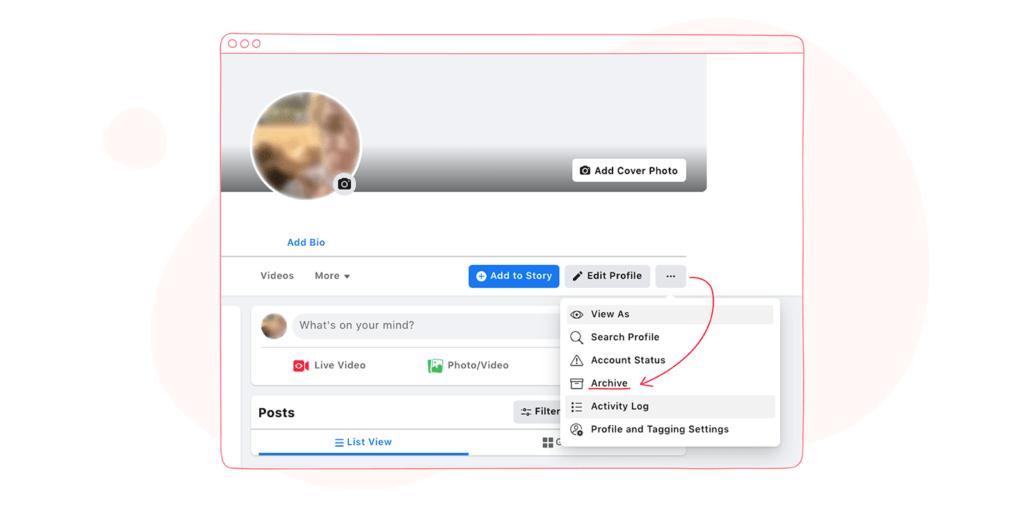 Facebook Profile Archive