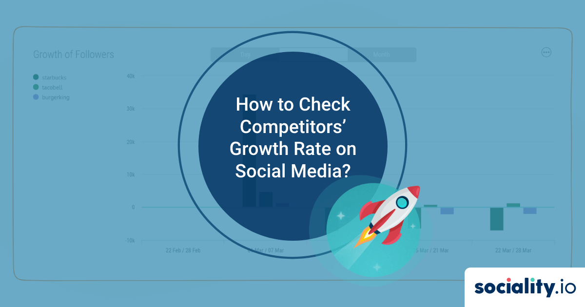 How to Check Competitors' Growth Rate on Social Media?