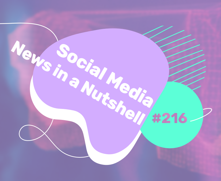 What's going on in the world of social media this week? 26 April — 2 May 2021