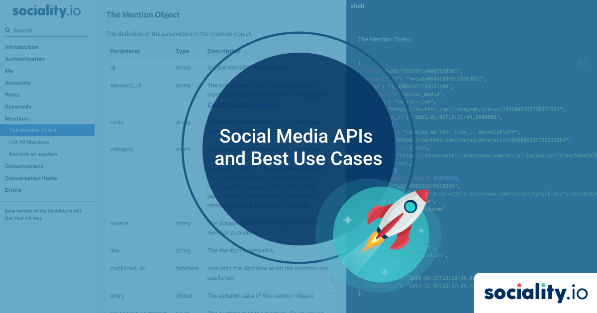 Social Media APIs and Best Use Cases