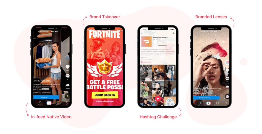 TikTok Ads Page