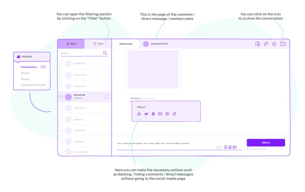 engagement tool module