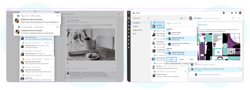 Hootsuite - social media community management