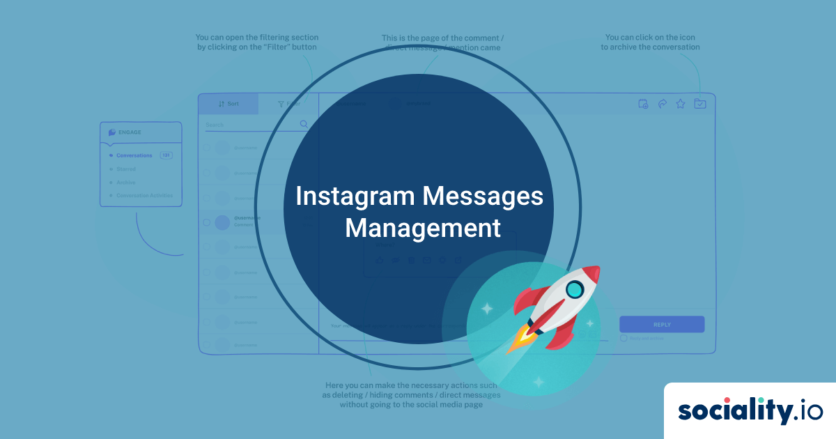 Instagram Messages Management and Automation of Social Media Management Chaos